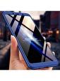Microsonic Samsung Galaxy A9 2018 Kılıf Double Dip 360 Protective  Lacivert